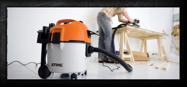 STIHL equipment shop vacuum