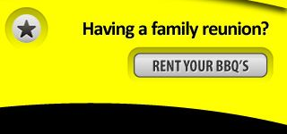 Having a family Reunion? Rent you bbq's
