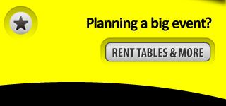 Planning a big event? Rent Tables and more